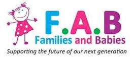 logo for F.A.B. breastfeeding support