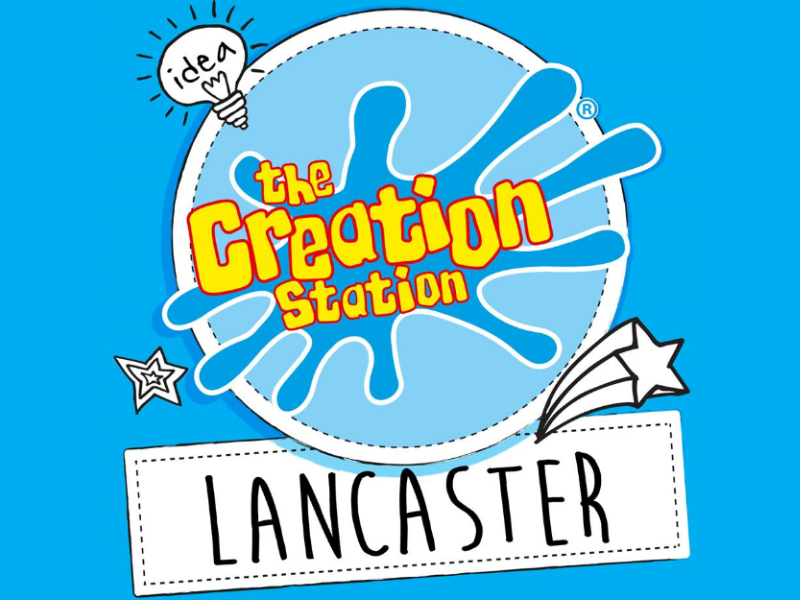 logo for The Creation Station Lancaster, art classes for babies, toddlers and preschoolers
