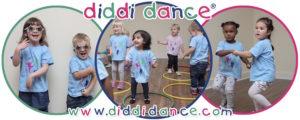 images of children enjoying diddi dance classes