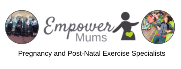 logo for empower mums, specialists in pregnancy and post natal exercise