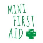 logo for mini first aid, providers of first aid classes for parents