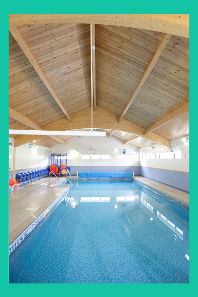 photo of the hydrotherapy swimming pool at the loyne school lancaster
