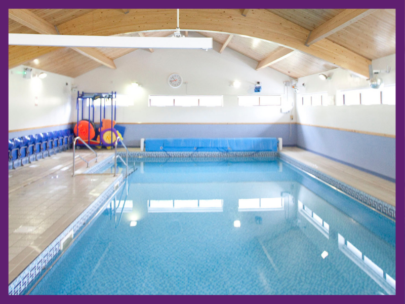 image of the hydrotherapy pool at the loyne school