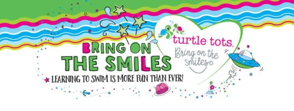 turtle tots baby and toddler swimming lessons logo