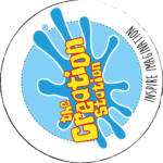 logo for the creation station
