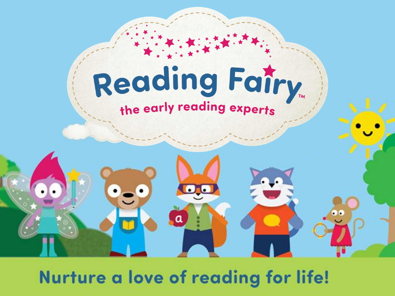 reading fairy - nurture a love of reading for life